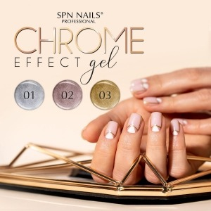 Do you already know our new gel with chrome effect? ✨ Chrome Effect Gel is a collection of 3 chrome gels in shades of silver, rose gold and gold. This gel is perfect for making delicate nail art and ornaments. It also looks beautiful on the entire nail plate. We closed it in a convenient jar with a capacity of 5g.  ✨Chrome Effect Gel can be found at https://projectnails.co.uk/248-chrome-effect-gel  #chromeeffectgel #chromeeffect #colouredgel #spn #spnnails #newmanicure #goldgel #silvergel #rosegoldgel #projectnailsuk #goldmanicure #silvermanicure #blingblingnails #shinynails #elegantnails #uknails #nailsofinstagram #nails #instanails #nailsinspiration #trendynails #chromenails